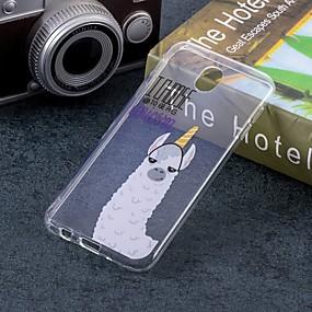 voordelige Galaxy J3 Hoesjes / covers-hoesje Voor Samsung Galaxy J7 (2017) / J5 (2017) / J5 (2016) IMD / Patroon Achterkant Cartoon Zacht TPU