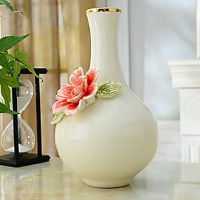 preiswerte Künstliche Blumen-Künstliche Blumen 0 Ast Klassisch Moderne zeitgenössische Simple Style Vase Tisch-Blumen / Einzel Vase