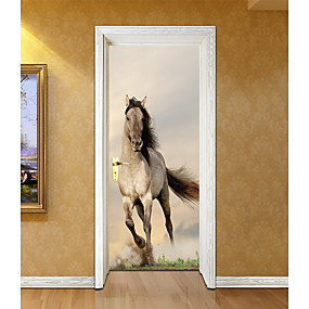 cheap Decoration Stickers-Decorative Wall Stickers / Door Stickers - Plane Wall Stickers Religious / 3D Living Room / Bedroom