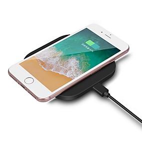halpa iPod laturit-yhdeksän viisi nt2 universaalia nopeaa latausta kannettava mini qi langaton laturi omena iphone x / 8 / 8p