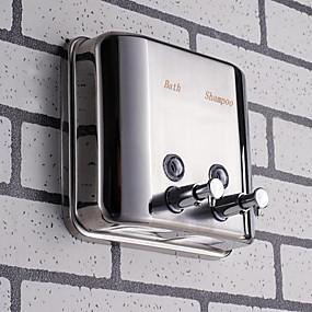 levne Koupelnové gadgety-Dávkovač mýdla Nový design / Cool Moderní Nerezová ocel / železo 1ks - Koupelnové Nástěnná montáž