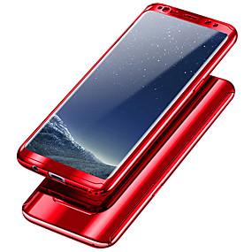 voordelige Galaxy S7 Hoesjes / covers-hoesje Voor Samsung Galaxy S9 / S9 Plus / S8 Plus Schokbestendig / Beplating Volledig hoesje Effen Hard PC