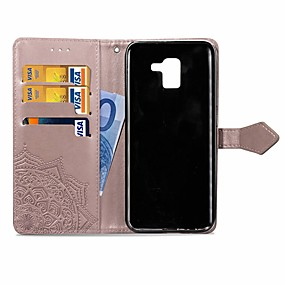 cheap Galaxy J Series Cases / Covers-Case For Samsung Galaxy J6 / J4 Wallet