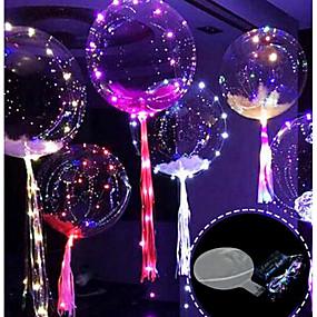 economico Decorazioni e forniture per feste-Palloncino 3m 30led con palloncini led luminosi a led per decorazioni natalizie festa di compleanno natale nuovo anno
