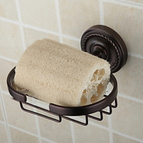 cheap Bathroom Gadgets-Towel Bar / Soap Dishes & Holders New Design Antique Brass 1pc Single Wall Mounted