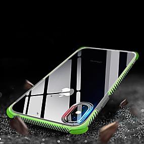 levne iPhone pouzdra-Carcasă Pro Apple iPhone XR / iPhone XS Max Nárazuvzdorné / Průsvitný Zadní kryt Jednobarevné Měkké TPU pro iPhone XS / iPhone XR / iPhone XS Max