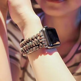 olcso Szűrés mobiltelefon modell szerint-Nézd Band mert Apple Watch sorozat 5/4/3/2/1 Apple Sportszíj Rozsdamentes acél / Műanyag Csuklópánt