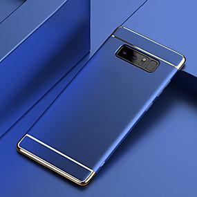 billige Etuier / covers til Galaxy Note-modellerne-Etui Til Samsung Galaxy Note 9 / Note 8 Belægning Bagcover Ensfarvet Hårdt PC for Note 9 / Note 8