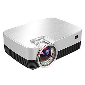 billige Projektorer-Factory OEM Q6 LCD LED Projektor 4000 lm Support 1080P (1920x1080) 30-120 inch / WXGA (1280x800) / ±15°