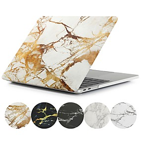 """cheap MacBook Pro 15"""" Cases-MacBook Case Marble PVC Case for Air Pro Retina 11 12 13 15 Laptop Cover Case for Macbook New Pro 13.3 15 inch with Touch Bar"""