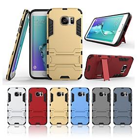 halpa Galaxy S -sarjan kotelot / kuoret-Etui Käyttötarkoitus Samsung Galaxy S7 edge Iskunkestävä / Tuella Takakuori Yhtenäinen Kova PC varten S7 edge