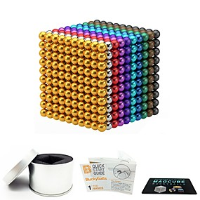 cheap Toy & Game-1000 pcs 3mm Magnet Toy Magnetic Balls Magnet Toy Building Blocks Magnetic Stress and Anxiety Relief Office Desk Toys Relieves ADD, ADHD, Anxiety, Autism Novelty Kid's / Teenager / Adults' All Boys