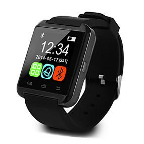 levne Chytré hodinky-U8 Muži Inteligentní hodinky Android iOS Bluetooth Sportovní Dotykový displej Spálené kalorie Zobrazení teploty Inteligentní Case Sledování aktivity Budík / Hands free hovory / Média kontrola