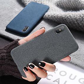 olcso iPhone tokok-Case Kompatibilitás Apple iPhone XR / iPhone XS Max Ütésálló / Ultra-vékeny Fekete tok Egyszínű Puha Szilikon mert iPhone XS / iPhone XR / iPhone XS Max