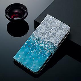 voordelige Galaxy J5(2017) Hoesjes / covers-hoesje Voor Samsung Galaxy J7 (2017) / J7 (2016) / J6 (2018) Kaarthouder / met standaard / Flip Volledig hoesje Landschap Hard PU-nahka