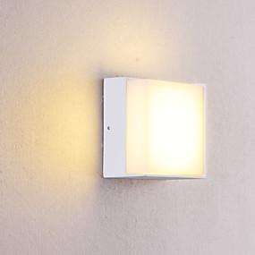 billige Væglamper-OYLYW Vandtæt / Ministil LED / Moderne Moderne Væglamper / Badeværelsesbelysning Indendørs / Udendørs Metal Væglys IP54 85-265V 5 W