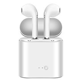 Χαμηλού Κόστους Αξεσουάρ Η/Υ & Tablet-soyto i7s tws Ασύρματη Bluetooth 4.2 Ακουστικά Κεφαλής Ακουστικό ABS + PC EARBUD Ακουστικά Στέρεο / Διπλοί οδηγοί / Απομόνωση θορύβου Ακουστικά