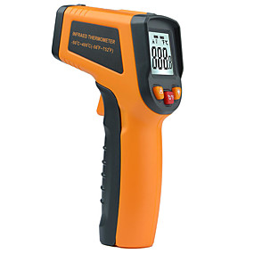 halpa Päivittäistarjoukset-MESTEK MT380 Kannettava / Kestävä Handheld Termograph -50~400℃ Ulkourheiluun, Kotielämä