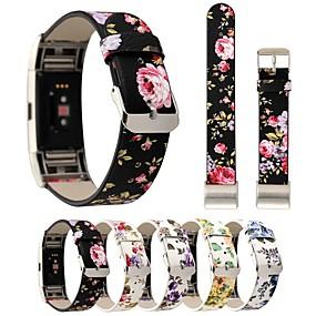 ieftine Accesorii Telefon Mobil-Uita-Band pentru Fitbit Charge 2 Fitbit Catarama Clasica Piele Autentică Curea de Încheietură