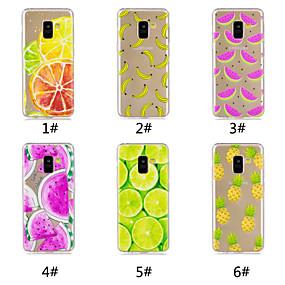 voordelige Galaxy A3(2016) Hoesjes / covers-hoesje Voor Samsung Galaxy A6 (2018) / A6+ (2018) / Galaxy A7(2018) Patroon Achterkant Fruit Zacht TPU
