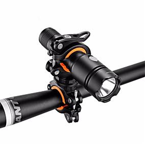 olcso Zseblámpák-Kerékpár világítás Kerékpárvilágító bilincs Hegyi biciklizés Kerékpározás 360° forgás Ütésálló csúszásmentes Kempingezés / Túrázás / Barlangászat Kerékpározás - ROCKBROS