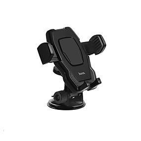 abordables Cargadores de auto inalámbricos-HOCO Coche Soporte para soporte de montaje Parabrisas delantero / Soporte Ajustable / Rotación 360º Tipo de hebilla / Tipo Cupula ABS Titular