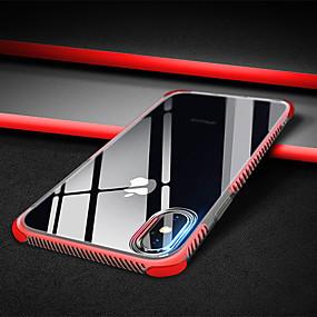 billige Apple-tilbehør-Etui Til Apple iPhone XR / iPhone XS Max Stødsikker / Transparent Bagcover Ensfarvet Blødt TPU for iPhone XS / iPhone XR / iPhone XS Max