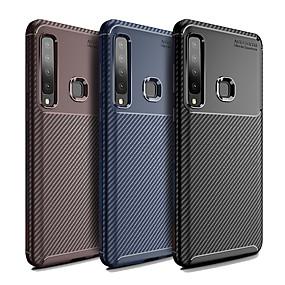 voordelige Galaxy A8 Hoesjes / covers-hoesje Voor Samsung Galaxy Galaxy A7(2018) / A9 Star / A8 Stofbestendig Achterkant Effen / Lijnen / golven Zacht TPU