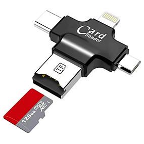 זול מוצרים חדשים-LITBest MicroSD / MicroSDHC / MicroSDXC / TF USB 2.0 / מיקרו USB / תאורה קורא כרטיסים טלפון סלולרי אנדרואיד / מחשב / עבור אייפון