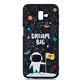voordelige Galaxy J7(2017) Hoesjes / covers-hoesje Voor Samsung Galaxy J8 (2018) / J7 Prime / J7 (2017) Mat / Patroon Achterkant Landschap Zacht TPU