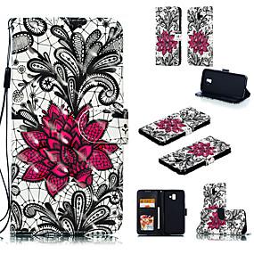 voordelige Huawei Honor hoesjes / covers-hoesje Voor Apple / Huawei Huawei P20 / Huawei P20 Pro / Huawei P20 lite Portemonnee Volledig hoesje dier Hard PU-nahka