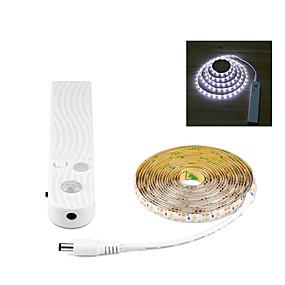 cheap Novelty Lighting-Novelty Wireless PIR Motion Sensor LED light Bulb 2M 5V USB LED Strip lamp Kitchen Cabinet Bedroom Night lighting Decoration