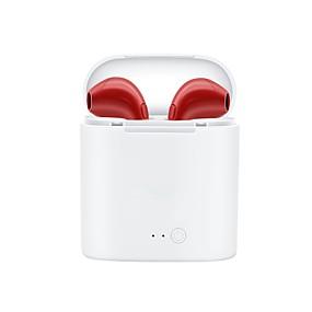 Χαμηλού Κόστους Αξεσουάρ Η/Υ & Tablet-LITBest i7s Στο αυτί Ασύρματη Ακουστικά Κεφαλής Ακουστικό Πλαστική ύλη EARBUD Ακουστικά Απίθανο / Με το κουτί φόρτισης Ακουστικά