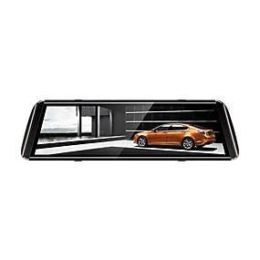 voordelige Auto DVR's-1080p streaming media achteruitkijkspiegel auto dvr 150 graden groothoek 10 inch ips dash cam met nachtzicht / g-sensor / parking monitoring auto recorder