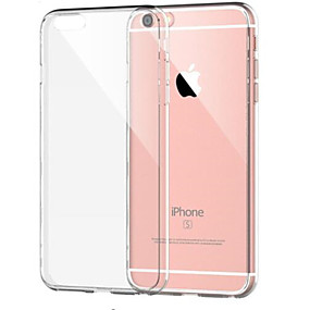 baratos Capinhas para iPhone-Capinha Para Apple iPhone 8 / iPhone 8 Plus Antichoque / Transparente Capa traseira Sólido Macia TPU para iPhone 8 Plus / iPhone 8 / iPhone 7 Plus