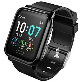 halpa Päivittäistarjoukset-B1 Miehet Smartwatch Android iOS Bluetooth Vedenkestävä Kosketusnäyttö Sykemittari Verenpaineen mittaus Urheilu Sekunttikello Askelmittari Puhelumuistutus Activity Tracker Sleep Tracker