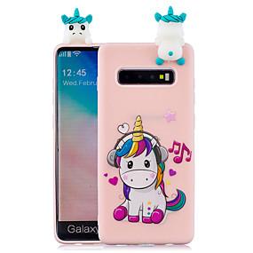 voordelige Galaxy S7 Hoesjes / covers-hoesje Voor Samsung Galaxy S9 / S9 Plus / S8 Plus Patroon Achterkant Cartoon Zacht TPU