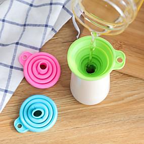 ieftine Ustensile Bucătărie & Gadget-uri-Re · Cook Silicon pâlnie Ușor de transportat Anti-deversării Instrumente pentru ustensile de bucătărie Utilizare Zilnică Multifuncțional 1 buc