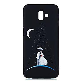 voordelige Galaxy Grand Prime Hoesjes / covers-hoesje Voor Samsung Galaxy J8 (2018) / J7 Prime / J7 (2017) Mat / Patroon Achterkant Landschap Zacht TPU