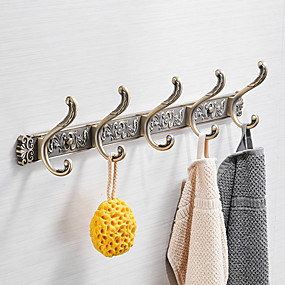 cheap Bathroom Gadgets-Robe Hook New Design Metal 1pc Wall Mounted