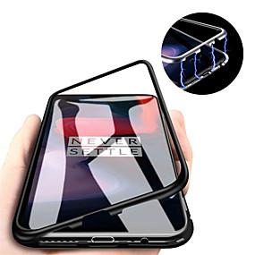 ieftine New Arrival-Maska Pentru OnePlus OnePlus 6 / One Plus 6T / One Plus 7 Magnetic Capac Spate Mată Greu Sticlă Temperată