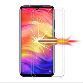 Недорогие Защитные плёнки для экрана-Защитная плёнка для экрана для XIAOMI Xiaomi Redmi Note 7 / Xiaomi Redmi 7 Закаленное стекло 2 штs Защитная пленка для экрана HD / Уровень защиты 9H / Взрывозащищенный