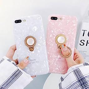 voordelige Huawei Honor hoesjes / covers-hoesje Voor Huawei Huawei P20 / Huawei P20 Pro / Huawei P20 lite Ringhouder / Patroon Achterkant Glitterglans Zacht TPU / P10 Plus / P10 Lite / P10
