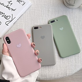 olcso iPhone tokok-Apple iphone xr / iphone xs max mintázat hátsó borító szív puha tpu iPhone x xs 8 8plus 7 7plus 6 6s 6plus 6s plus