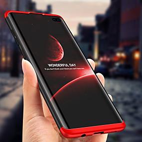 halpa Galaxy S -sarjan kotelot / kuoret-Etui Käyttötarkoitus Samsung Galaxy Galaxy S10 / Galaxy S10 Plus Iskunkestävä / Ultraohut / Himmeä Suojakuori Yhtenäinen Kova PC varten S9 / S9 Plus / S8 Plus