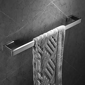 billige Hjem & Køkken-Håndklædestang Nyt Design / Kreativ Moderne Rustfrit Stål / Rustfrit stål / Metal 1pc - Badeværelse 1-håndklæde bar Vægmonteret