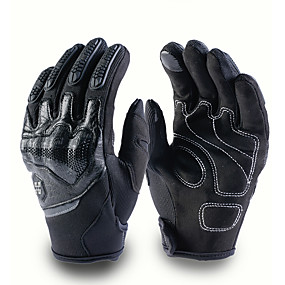 お買い得  オートバイ用手袋-モトモトクロス手袋男性女性オフロードバイクフルフィンガータッチスクリーン手袋