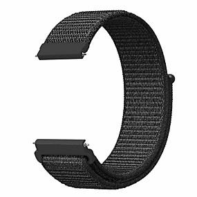 ieftine Accesorii Telefon Mobil-Uita-Band pentru Gear S3 Frontier / Gear S3 Classic / Huami Amazfit A1602 Samsung Galaxy Banderola Sport Nailon Curea de Încheietură
