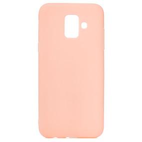 voordelige Galaxy J7(2017) Hoesjes / covers-case voor samsung galaxy j4 (2018) galaxy j4 plus (2018) telefoon case tpu materiaal candy serie effen kleur telefoon case