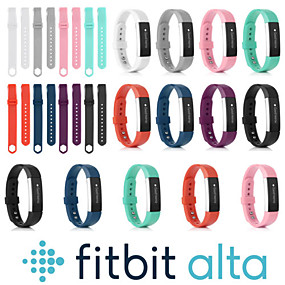 저렴한 Fitbit 밴드 시계-시계 밴드 용 Fitbit Alta HR / Fitbit Alta 핏빗 스포츠 밴드 실리콘 손목 스트랩